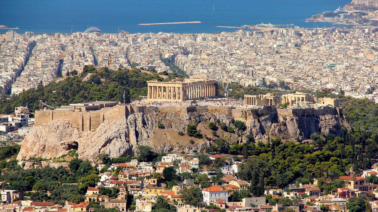 Athén és az Akropolisz